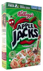 Apple Jacks cereal house